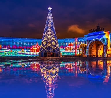 New Year in St. Petersburg Tour